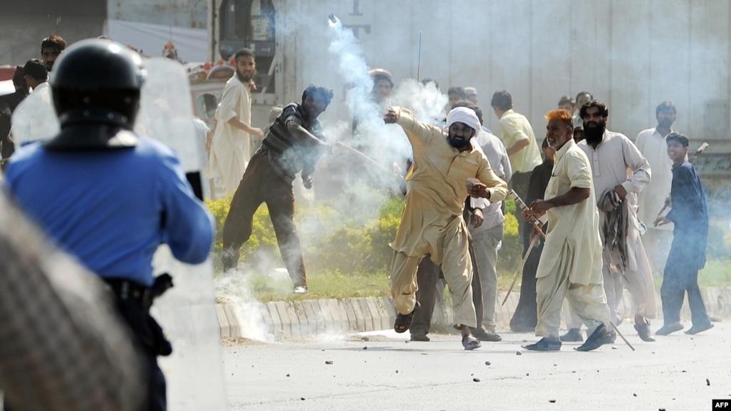 Pakistanis Protest Anti-Islam Film In Islamabad