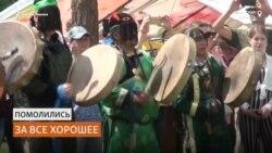 Сто шаманов Сибири приготовили угощение для духов