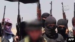 """""""Ирак және Шам ислам мемлекеті"""" (ИШИМ) ұйымының содырлары деп жарияланған сурет."""