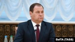 Беларус өкмөт башчысы Роман Головченко.