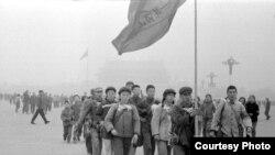 Хунвейбины. Пекин. 1967 г.