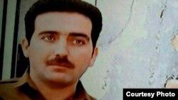 Hedayat Abdollahpour, a Kurdish prisoner