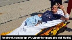 Боєць 28 ОМБр 23-річний Дмитро зараз перебуває в одеському шпиталі