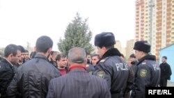 Fatimeyi-Zəhra məscidinin sökülməsinə etiraz edən islam fəallarının aksiyası, Bakı – 11 dekabr 2009