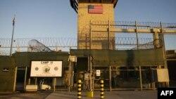 Гуантанамо түрмесінің қақпасы. 19 қаңтар 2012 жыл.