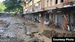 Վրաստան - Ջրհեղեղի հետևանքները Թբիլիսիում, 18-ը հունիսի, 2015թ․