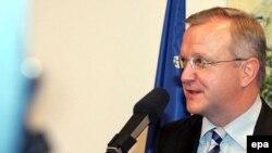 Olli Rehn, arhivski snimak