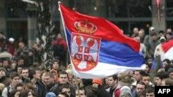 Pamje nga protesta në Beograd