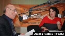 Əliyar Səfərli və Şahnaz Bəylərqızı