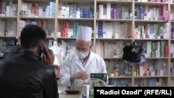 В одной из аптек Душанбе