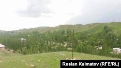 Село Орукту Ала-Букинского района. Архивное фото.