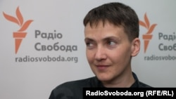 "Former Russian captive Nadia Savchenko told RFE/Rl's Ukrainain Service that the conflict in eastern Ukraine has ""become a burden for everyone."""