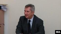 Министерот за земјоделство, шумарство и водостопанство Љупчо Димовски