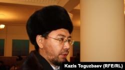 Адвокат Жандос Бұлқайыр. Алматы, 27 қаңтар 2014 жыл.