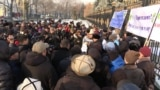 Kyrgyz Protesters Demand Better Security Along Tajik Border video grab 1