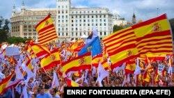 Мітинг у Барселоні, 12 жовтня 2017 року
