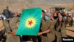 حزب کارگران کردستان که خواستار حکومت خودمختار در مناطق کردنشین ترکیه است، از سال ۱۹۸۴ با ترکیه در جدال است- عکس آرشیوی است.