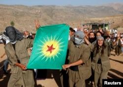 Боевики Рабочей партии Курдистана в Турции. 2009 год