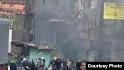Թուրքյիա - Քուրդ ակտիվիստների եւ տեղացիների բախումներ Ստամբուլի փողոցներում, 13-ը դեկտեմբերի, 2009թ.