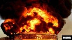 آتشسوزی در ماهشهر