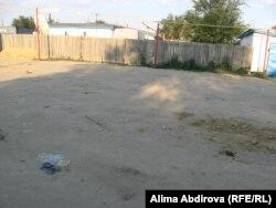 Шұбаршидегі полицейлерді өлтіріп кеткен жер. Ақтөбе облысы, 2011 жылдың жазы.