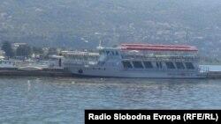 Пристаниште во Охрид.