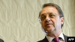 Russian Deputy Foreign Minister Mikhail Bogdanov (file photo)