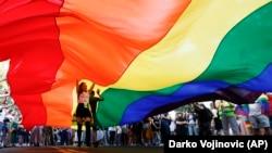 Parada ponosa u Beogradu, septembar 2019.