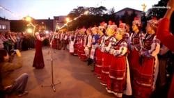 Ужгород розпочав День незалежності удосвіта «Молитвою за Україну»