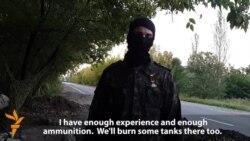 Separatist Base Near Donetsk