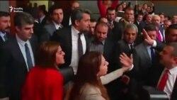 Türkiyədə deputatlar yenə dalaşdı