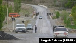 Спорная дорога в Баткенской области