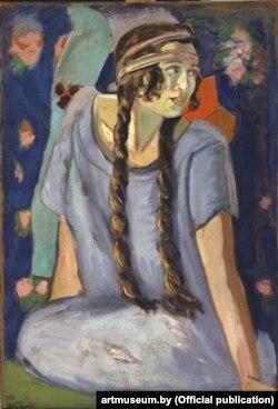 Міхаіл Станюта «Партрэт дачкі» (1923)