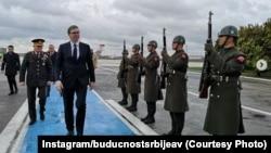 Aleksandar Vučić, predsednik Srbije stigao u Istanbul