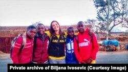 Biljana Ivošević u Tanzaniji