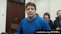 Мікалай Казлоў у судзе, 9 сакавіка 2016 году