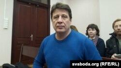 Мікалай Казлоў у судзе, 9 сакавіка 2016
