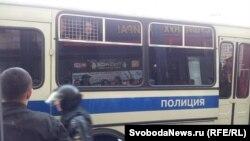 Акцыя апазыцыі на Трыюмфальнай плошчы ў Маскве, 31 траўня 2012