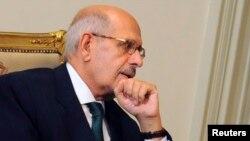 Мұхаммед әл-Барадей, Египеттің уақытша вице-президенті
