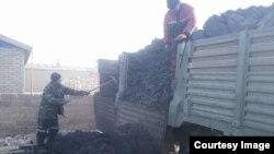 Отгрузка угля.