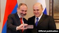 Հայաստանի և Ռուսաստանի վարչապետների հանդիպումը Ալմաթիում, 31-ը հունվարի, 2020թ.