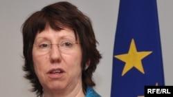EU High Representative for Foreign Affairs Catherine Ashton