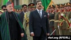 Хамид Карзаи и Јусуф Раза Гилани