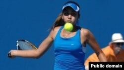 Казахстанская спортсменка Зарина Дияс.