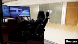 Saudijka na časovima vožnje, ilustrativna fotografija