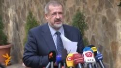 Қрим татарлари лидери референдумга бойкот эълон қилди