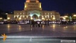 Ոստիկանությունը թույլ չտվեց «Ոտքի', Հայաստան»-ին նստացույց անել հրապարակի կենտրոնում