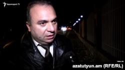 Լեռնային Ղարաբաղի խորհրդարանի նախկին պատգամավոր Վահան Բադասյանը, արխիվ: