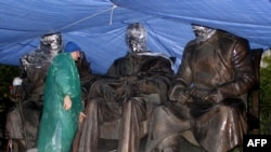 Памятник лидерам стран антигитлеровской коалиции, который власти Крыма хотят установить в Ялте