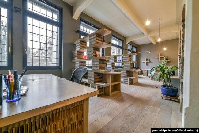 Офісне приміщення Paper Hub на другому поверсі Інституту криптоанархії